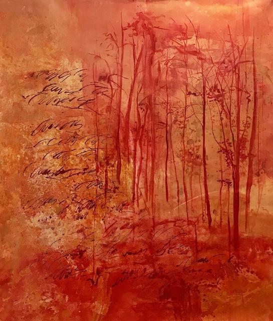 , 'Bosque Rojo,' 2018, Enlace Arte Contemporáneo