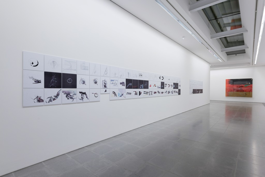 Zaha Hadid, Installation view, Serpentine Sackler Gallery, London (8 December 2016 – 12 February 2017)