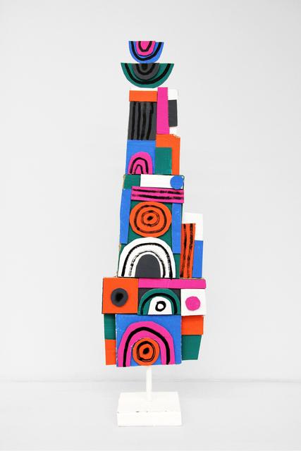 , 'Vertical Assemblage I,' 2016, Mini Galerie
