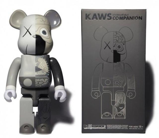 KAWS, 'Kaws 400% Bearbrick dissected Grey ed.500', 2010, Sculpture, Vinyl, Galerie C.O.A