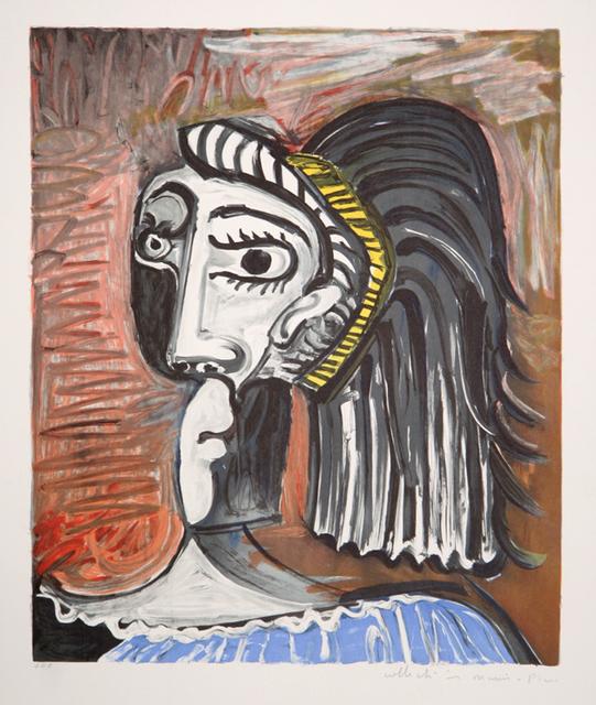 Pablo Picasso, 'Tête de Femme, 1962', 1979-1982, Print, Lithograph on Arches paper, RoGallery