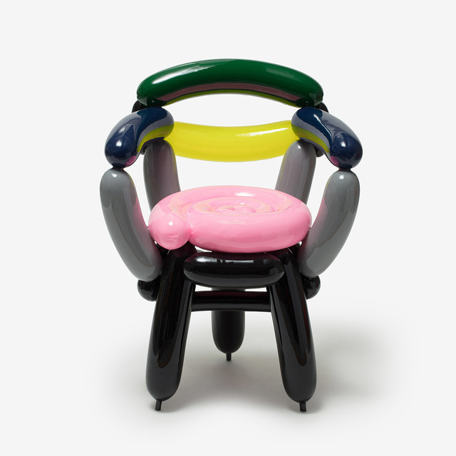 Seungjin Yang, 'PINK GREY BLACK BLOWING CHAIR 2', 2019, The Future Perfect