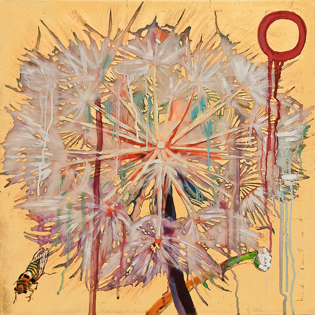 , 'Dandelion with Cicada,' 2017, Turner Carroll Gallery