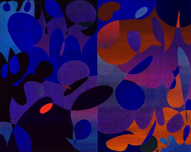 JJ Miyaoka-Pakola, 'GTFO-GTFOOH', 2017, Painting, Acrylic and urethane on linen, Morgan Lehman Gallery