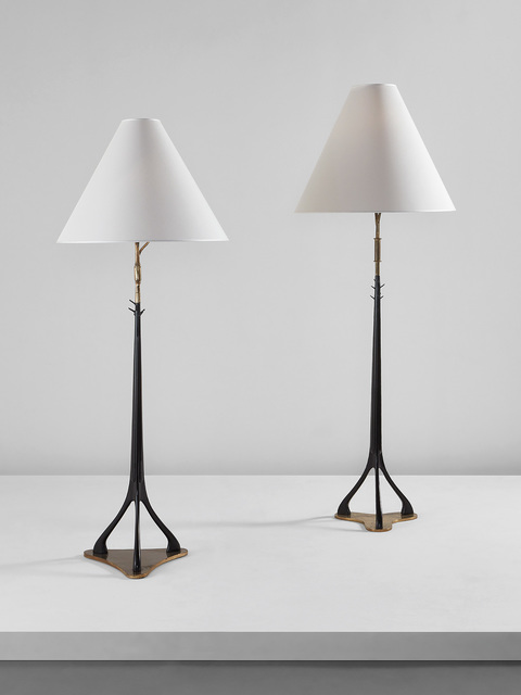 Cesare Lacca, 'Two floor lamps', circa 1949, Phillips