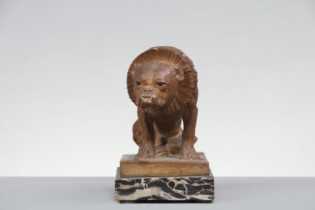 , 'terracotta Figure of a Dog,' England-19th Century, Brun Fine Art