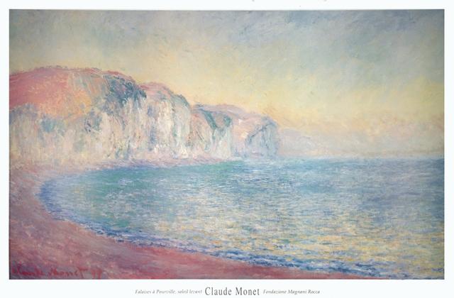 Claude Monet, 'Falaises a Pourville, Soleil Levant', 1992, ArtWise