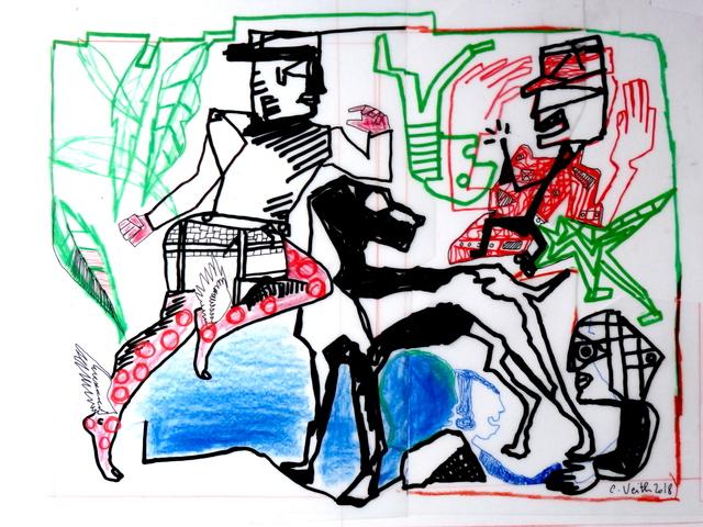 , 'Dream #2,' 2018, Galerie Claire Corcia