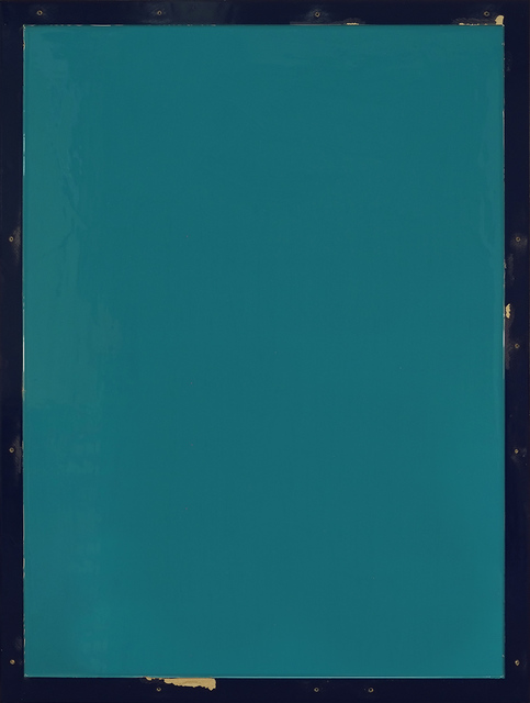 , 'from series Out of imperfection: Turquoise on blue-black,' 2016, Baró Galeria