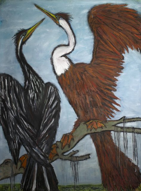 , 'Anhingas,' 2017, William Reaves | Sarah Foltz Fine Art