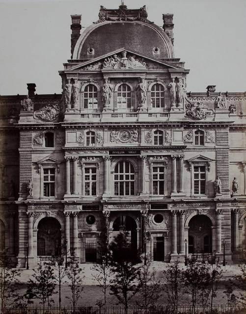 Édouard Baldus, 'Pavillon Sully, Nouveau Louvre, Paris', ca. 1855, James Hyman Gallery
