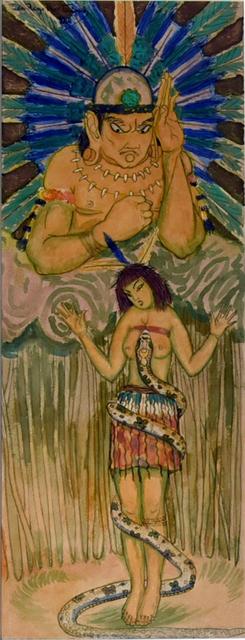 , 'Lenda Amazonica,' 1920, Bergamin & Gomide
