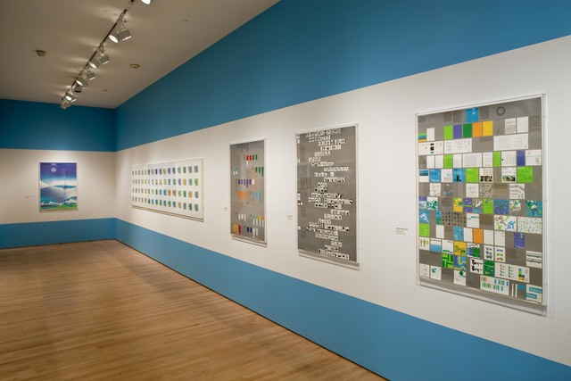 ", 'Installation view ""Otl Aicher: München 1972"", 2009,' , San Francisco Museum of Modern Art (SFMOMA)"
