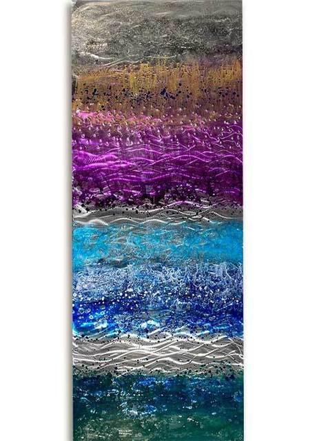 Ken Rausch, 'Radiant Waves II', 2020, Sculpture, Mixed Media on Steel, Art Leaders Gallery