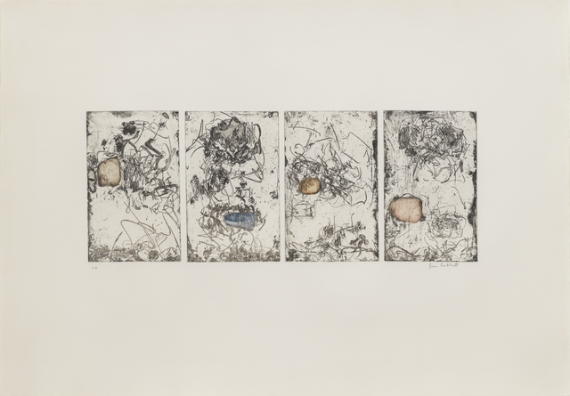, 'Sunflowers IV,' 1972, Susan Sheehan Gallery