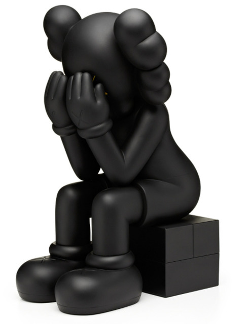 KAWS, 'Passing Through (Black)', 2013, MSP Modern Gallery Auction