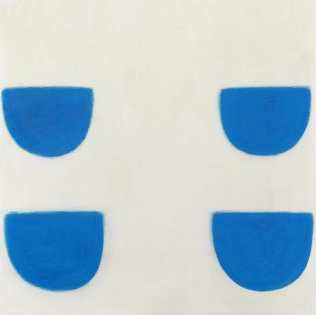 , 'Four forms, blue on white 1971,' 1971, Richard Green Gallery