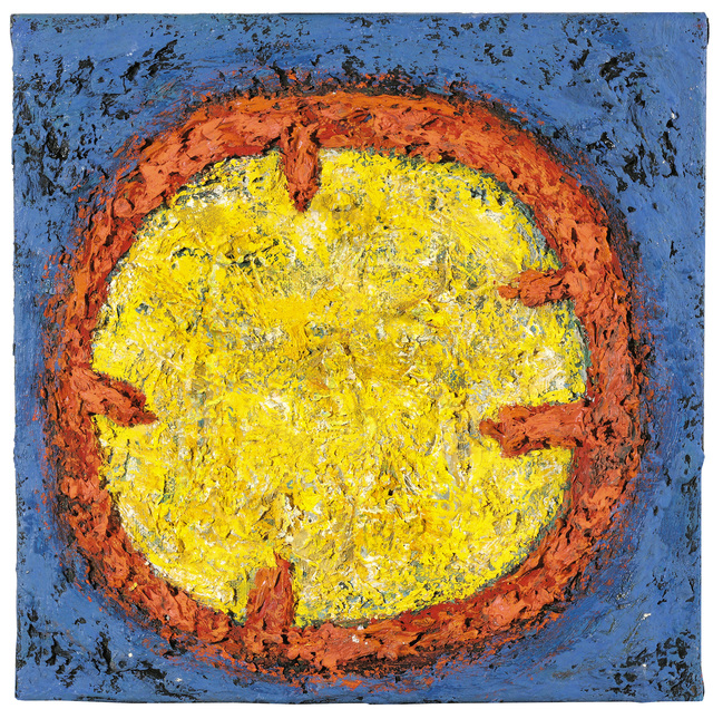 ", '""Kreisort"",' 1989, Galerie Bei Der Albertina Zetter"