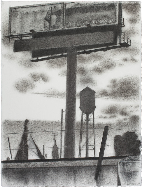 , 'Billboard, Watertowers, Kudzu,' 2009, Locks Gallery