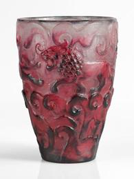 """Gabriel Argy-Rousseau, '""""Lions"""" Vase,' circa 1926, Sotheby's: Important Design"""