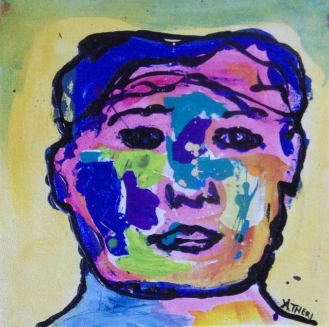 Ana Tatya Neri, 'Jordan', Painting, Acrylic on Canvas, Galleria Dante
