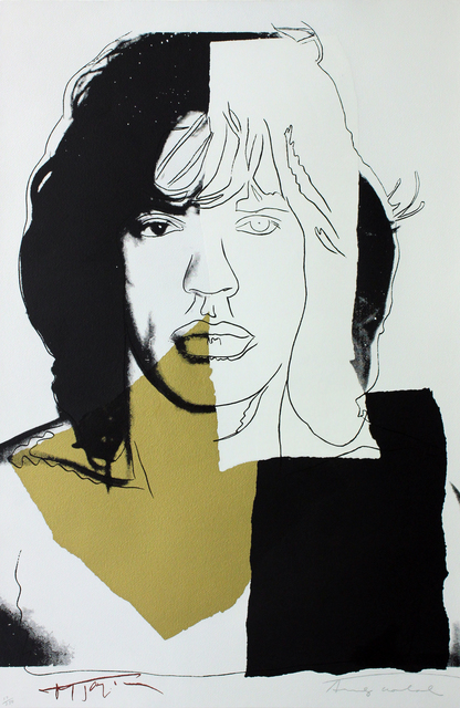 , 'Mick Jagger (FS II.146),' 1975, Gormleys Fine Art