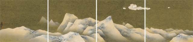 , 'Surging as Snow Wave,' 2018, Illuminati Fine Art