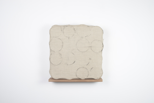 Analia Saban, 'Spring Cushion (with Coil Spring Rubbings)', 2014, Tanya Bonakdar Gallery