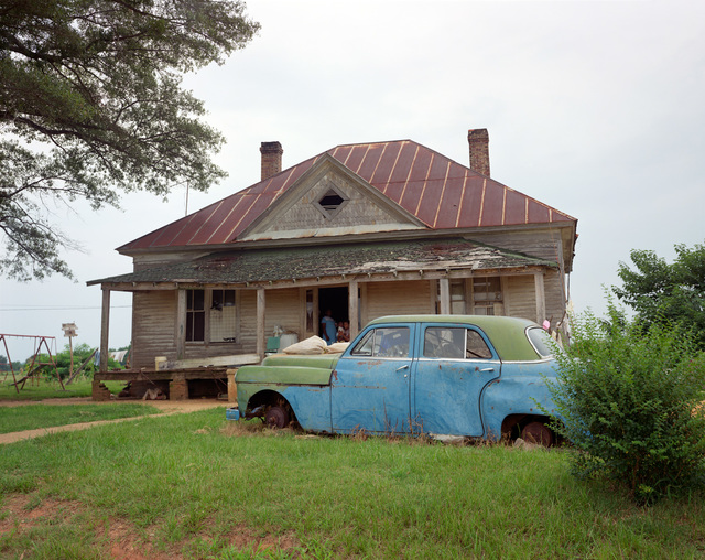 , 'House and Car (Close View), near Akron, Alabama,' 1985, Pace/MacGill Gallery