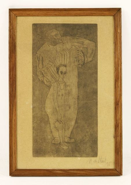Nicolas de Staël, 'UNTITLED', 1935, Print, Etching, Sworders