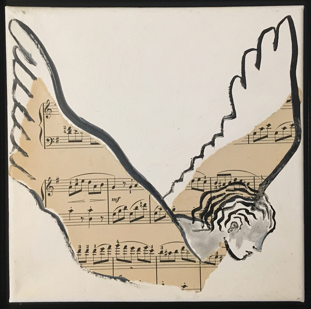 , 'Angel of Music,' 2017, Pleiades Gallery
