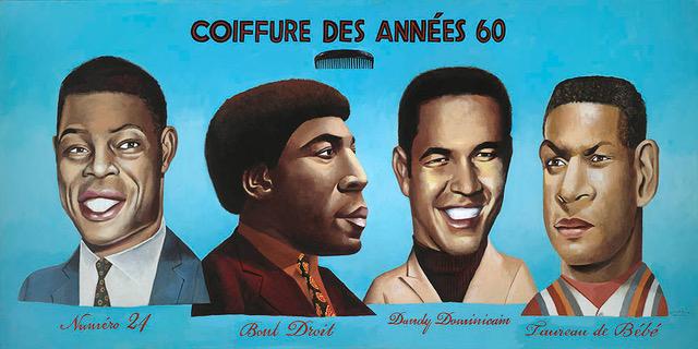 , 'Coiffure Des Années 60,' 2018, Modernism Inc.