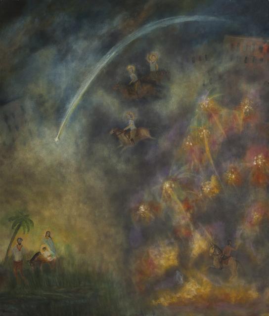 , 'Virgen, José y Niño volviendo de Nazaret,' 2005, Hache Gallery