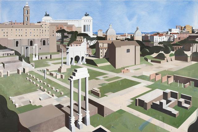 , 'Forum Romanum,' 2016, Gerhard Hofland