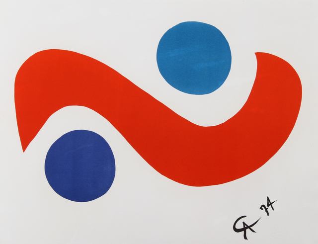 Alexander Calder, 'Flying Colors 1', 1974, RoGallery