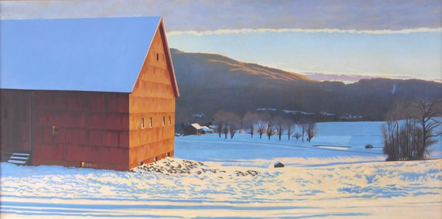 , 'Ridge at Sunrise,' , West Branch Gallery