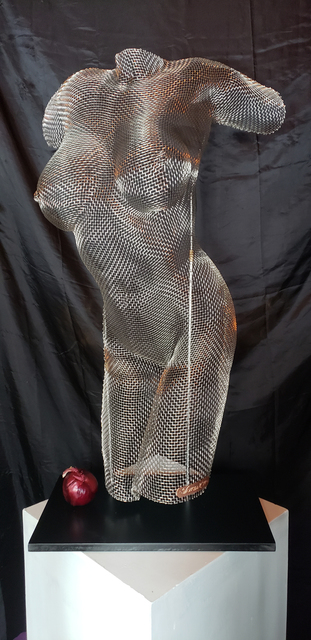 , 'Stainless Steel Figurative Sculpture inspired by Women,' 2019, ArtHelix Gallery