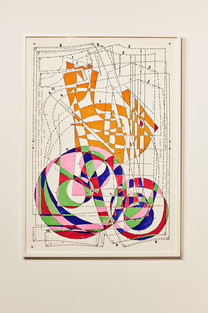 , 'Mesopotamian Maze no.1,' 2017, Gallery Elena Shchukina
