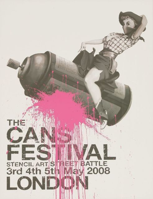 Banksy, 'The Cans Festival London Poster', 2008, Sworders