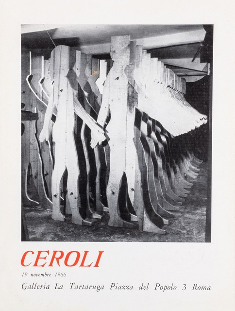 Mario Ceroli, 'Ceroli', 1966, Finarte