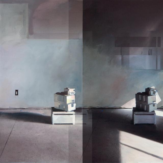 Jenny Brillhart, 'Styrofoam; 10:30am and 3:18pm (Late Winter)', Dowling Walsh