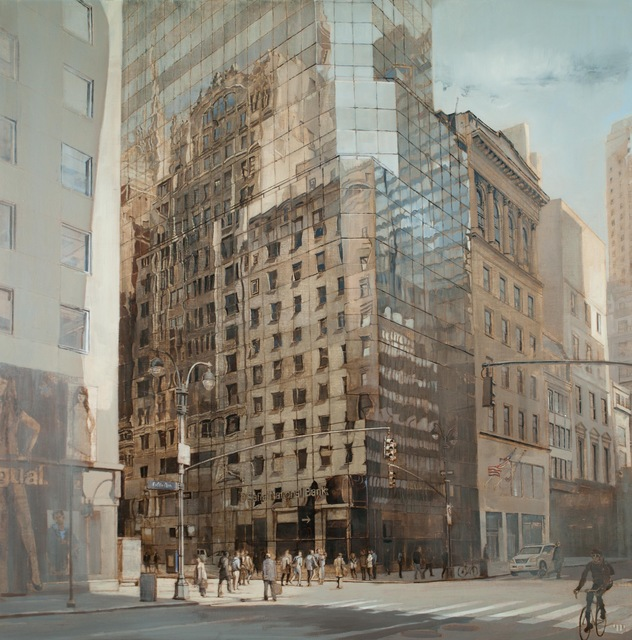 Patrick Pietropoli, '48th St and 5th Ave, NYC (silver)', Hugo Galerie