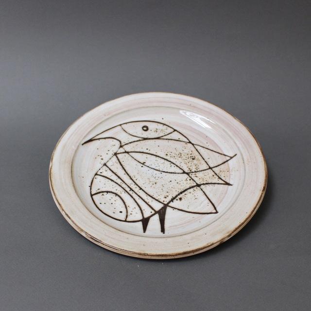 , 'Ceramic Plate with Stylised Bird,' 1950-1959, Bureau of Interior Affairs