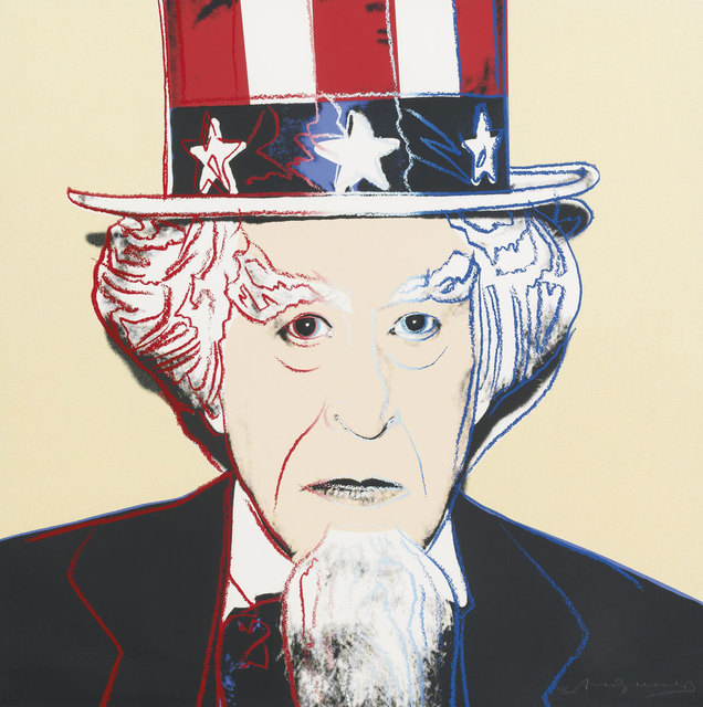 Andy Warhol, 'Uncle Sam (FS II. 259)', 1981, Revolver Gallery