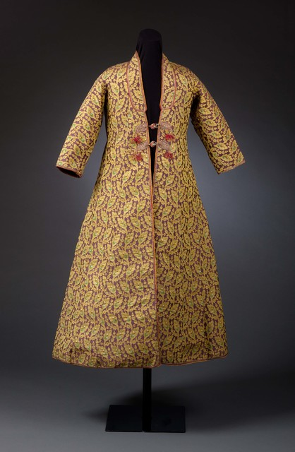, 'Man's Sawari Coat with Boteh and Woven Floral Motifs,' late 18th century -early 19th century, Phoenix Art Museum