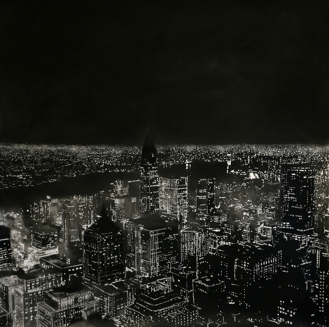 , 'Manhattan ,' 2015, Marsiaj Tempo