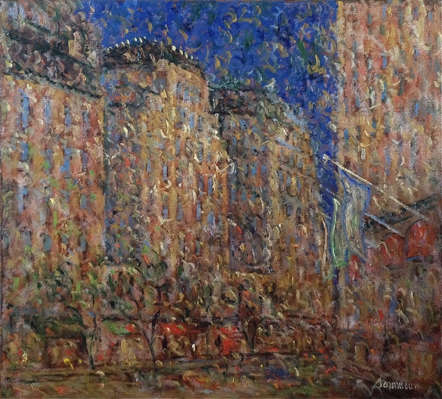 , 'Boston by Night,' 2016, Galerie d'Orsay