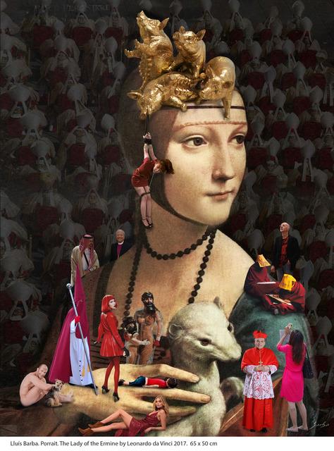, 'La Dama del Armiño de Leonardo da Vinci,' 2017, Galeria Contrast