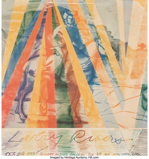 Larry Rivers, 'Robert Miller Gallery', 1977, Heritage Auctions