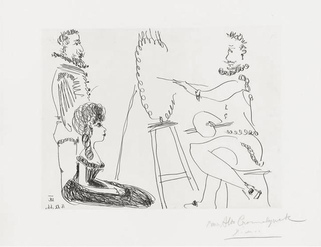 , 'Le Portraitiste ,' 1966, Fairhead Fine Art Limited